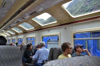 Tåg till Machu Picchu