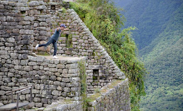 Drömmar om att flyga som en condor i Anderna
