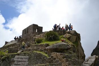 Templet i Machu Picchu