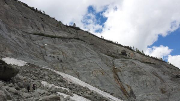 Klättring i Mont Blanc
