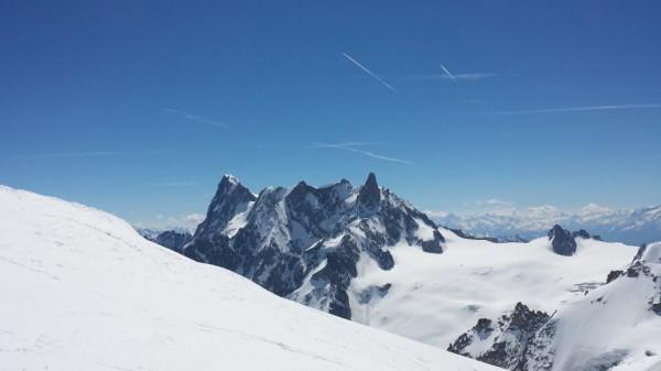 Klättra i Mont Blanc