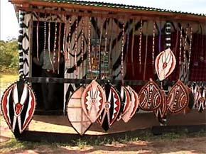 Affär i Massai Mara