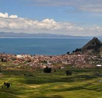 Copacabana och Titicacasjön
