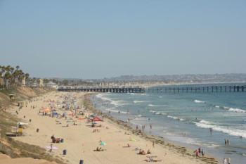 Härliga stränder i San Diego